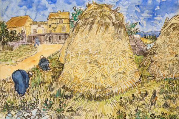 L'acquarello di Vincent Van Gogh all'asta
