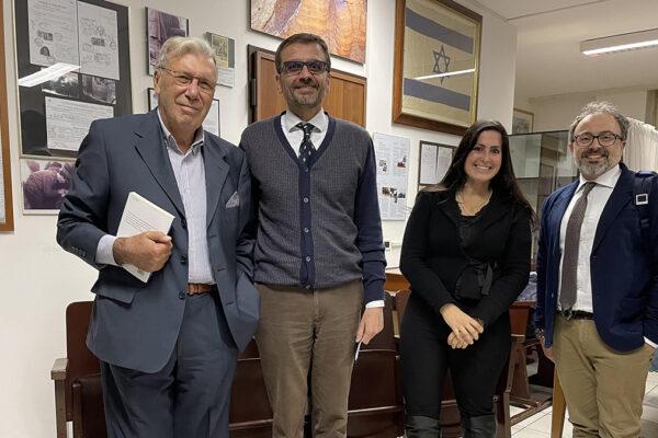 Marco Cavallarin, Davide Romano, Delilah Guttman e Andrea Bienati