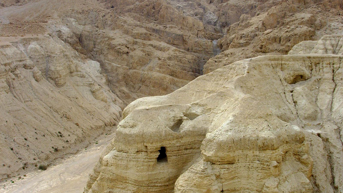Le grotte di Qumran