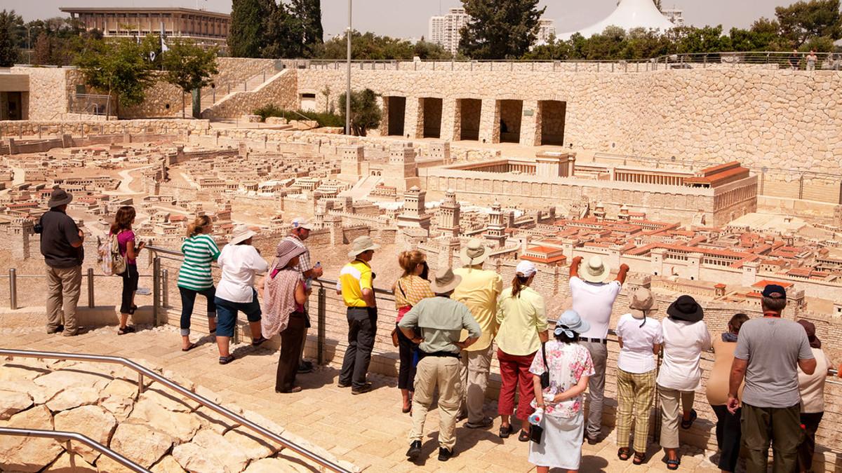Turisti in Israele